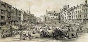 Market Place in 1854